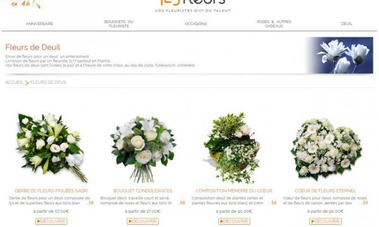 Fleurs naturelles funérailles à Foix, Saint-Paul-de-Jarrat et Varilhes.