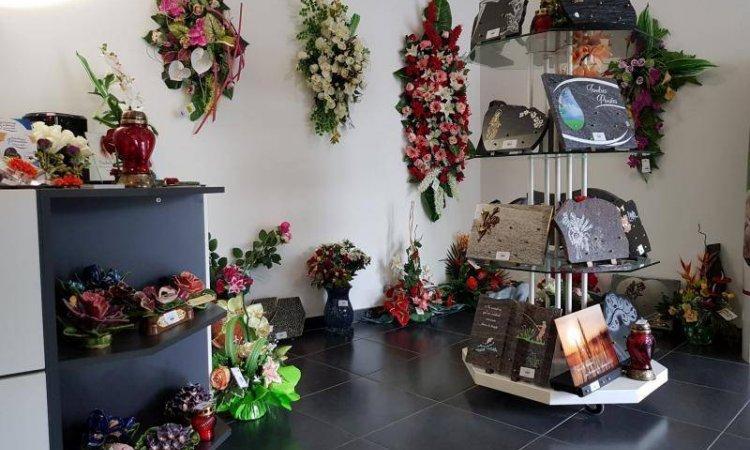 Fleurs artificielles funérailles à Foix, Saint-Paul-de-Jarrat et Varilhes.