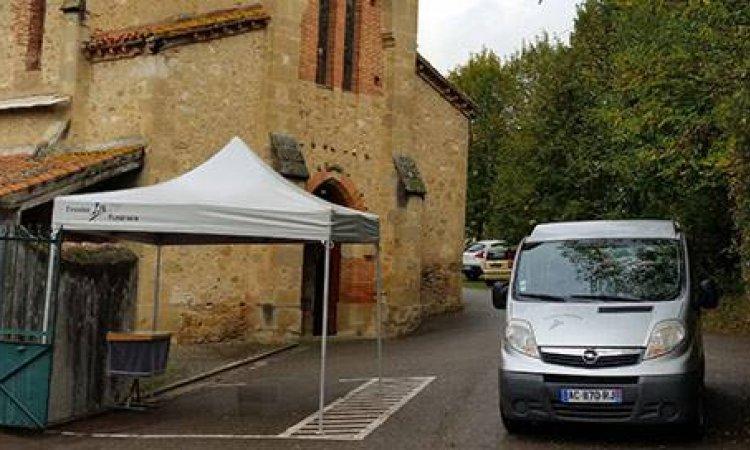 Chapiteaux funéraires à Foix, Saint-Paul-de-Jarrat et Varilhes et sa région.